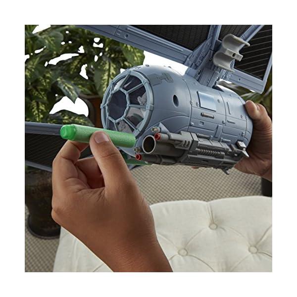 Star Wars Rogue One - Set con Figura, vehículo y Dardos Nerf Tie Striker (Hasbro B7105EU4) 5