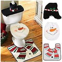 1 Set muñeco tapa de inodoro alfombra caja de pañuelos baño juego ...