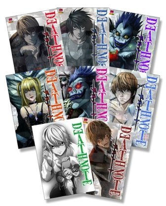 Death Note 1 - 8 (Folge 01 -37) - 8er DVD - Komplettset - Deutsch