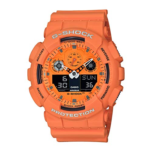 Casio G-Shock Herrenarmbanduhr GA-100RS-4AER