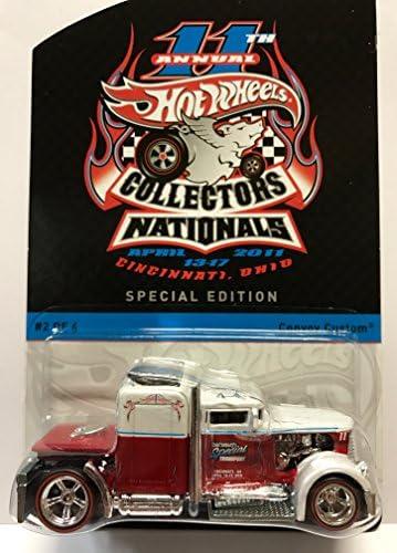 Hot Wheels 11th Annual Collectors Nationals Custom Convoy Cincinnati, Ohio 1:64 2011 by Hot Wheels | Beau Design