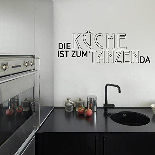 Die Küche Ist Zum Tanzen DaWandtattoo Black Certified Freak