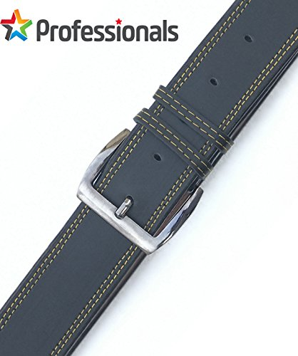 Genuine Leather For Casual and Formal - Belt For Men and Boys,Black, Soft Leather For Daily Use / (PROFESSIONALS CHOICE)
