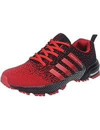 46f603be8dd Wealsex Zapatos para Correr En Montaña Asfalto Aire Libre Deportes  Zapatillas De Running para Hombre