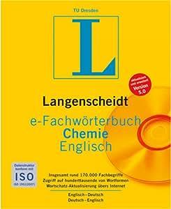 Langenscheidt e-Fachwörterbuch Chemie Englisch [Download]