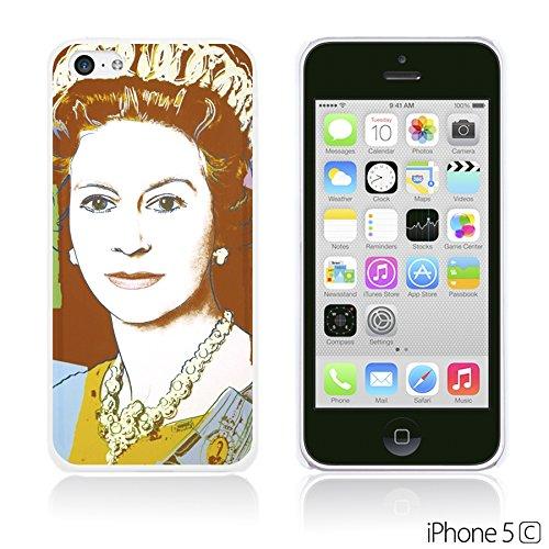 OBiDi - Celebrity Star Hard Back Case / Housse pour Apple iPhone 5C - Beautiful Queen Elizabeth II Queen Elizabeth II Pop Art