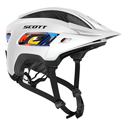 Scott Stego MTB Fahrrad Helm weiß 2017