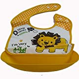 Baby Appron Baby Bib With Attachable Bowl Food Safety Appron For Baby Boy Baby Girl Perfect For Lunch Bib With Cartoon Prints Quick Dry And Washable