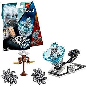 LEGO Ninjago - Spinjitzu Slam: Zane Set de construcción de Peonza Ninja de Juguete, Novedad 2019 (70683)