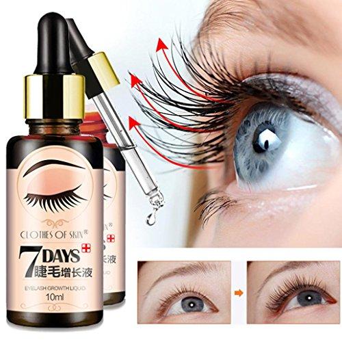 Sérum de Croissance pour Cils et Cheveux, Sensail 10ML Essence de Croissance pour Cils Sourcils et Cheveux