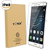Huawei P9 Plus Screen Protector [Full Coverage],YOOTECH [3-Pack] [Anti-Bubble] [HD Ultra Clear Film] Screen Protector for Huawei P9 Plus,Lifetime Warranty