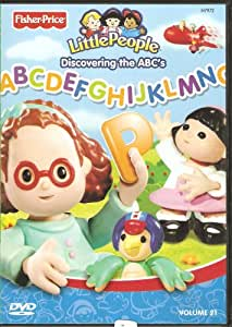 Fisher-Price Little People Discovering the ABC's (DVD) Volume 21