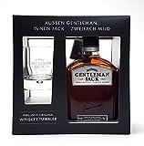 Jack Daniels Geschenkset - Gentleman Jack 70cl (40% Vol) + Tumbler 2/4cl geeicht