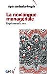 La novlangue managériale par Vandevelde-Rougale