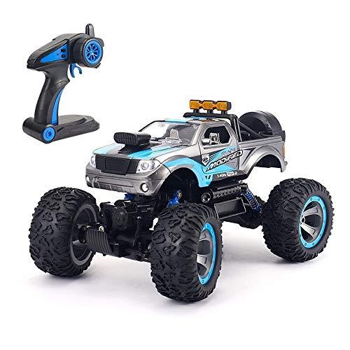Kikioo Auto telecomando, 1:12 4WD grande camion del deserto, fuoristrada elettrico RC, radio buggy set, batteria di grande capacità, coppia elevata, sospensione indipendente giocattolo di compleanno f