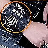TAOtTAO Magnetic Wristband Magnetische Armband-Taschen-Werkzeug-Gürteltasche-Taschen-Schrauben, die Arbeitshelfer halten