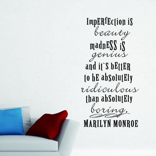Marilyn Monroe Zitat Wandtattoos Buyitmarketplace De