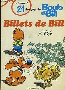 """Afficher """"Billets de Bill"""""""
