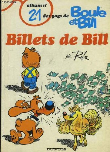 Boule et bill, n° 21 : Billets de bill
