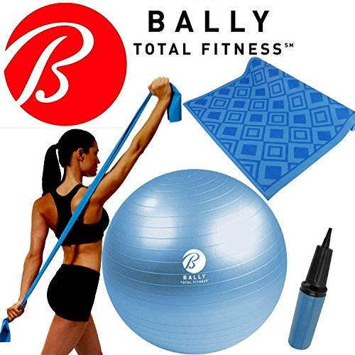 bally-fitness-yoga-wellness-kit-65cm-ball-pump-excercise-mat-stretch-resistance-band-blue-by-bally