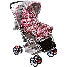 (Renewed) Tiffy & Toffee Baby Stroller Pram Maxtrem (Gray/Orchid)