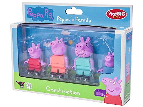 BIG Bloxx Pig Peppa´s Family (Alle Rund Um Die Welt Spiel)