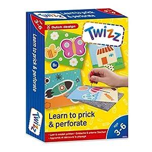 Twizz 66001 Entdecke & erlerne Stechen - Juego de edredón y Funda de Almohada