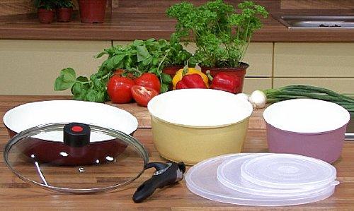 BonaCera - 8pcs Olla - y sartenes-set de cocina para asado * TV werbung*