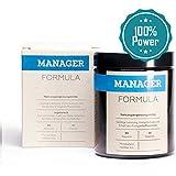 Manager Formula - Mehr Leistung - Geistige Power - Volle Energie - Hochdosierte Vitamine & Mineralien - 90 Kapseln mit OPC + Multivitamin