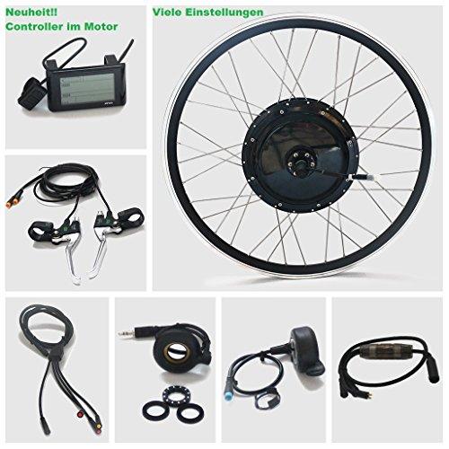 Preisvergleich Produktbild Umbausatz E-bike E bike 36V,  48V,  250W bis 800W Heckmotor 20Zoll Neuheit