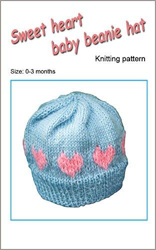 sweet-heart-baby-beanie-hat-knitting-pattern