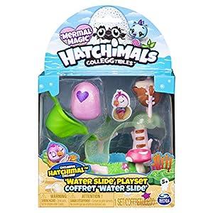 Hatchimals CollEGGtibles Water Slide Playset - Season 5 - Kits de Figuras de Juguete para niños (5 año(s), Multicolor, Niño/niña, China, 152,4 mm, 111,3 mm)