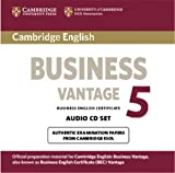 Cambridge English Business 5 Vantage Audio CDs (2) (BEC Practice Tests)