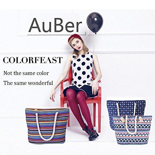 AuBer Canvas Bag Beach / Holiday Bag