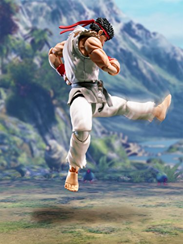 Street Fighter- Ryu Figura 15 Cm V SH Figuarts, Multicolor (BDISF051930) 6