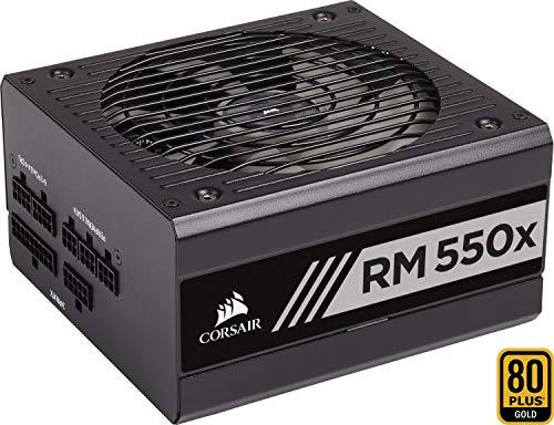 Corsair RM550x PC-Netzteil (Voll-Modulares Kabelmanagement, 80 Plus Gold, 550 Watt, EU) -