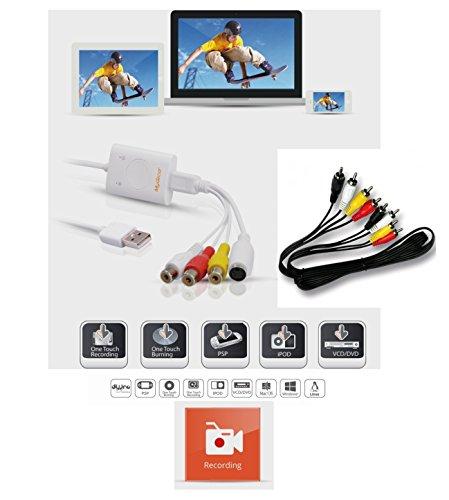 MyGica iGrabber Live Box USB Acquisition vidéo Live streaming Free Driver pour Windows Mac Linux digitalizza Video Capture USB 2.0RCA VHS to DVD Obs étude Open Broadcaster logiciel