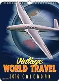 Vintage World Travel 2016 Poster Calenda