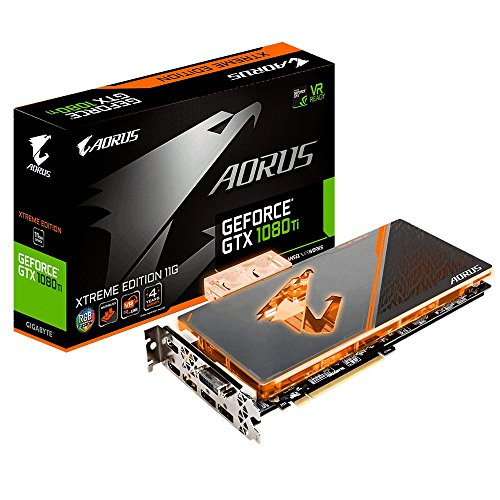 Gigabyte NVIDIA GeForce GTX 1080 ti 11 GB Waterforce WB Xtreme Edition