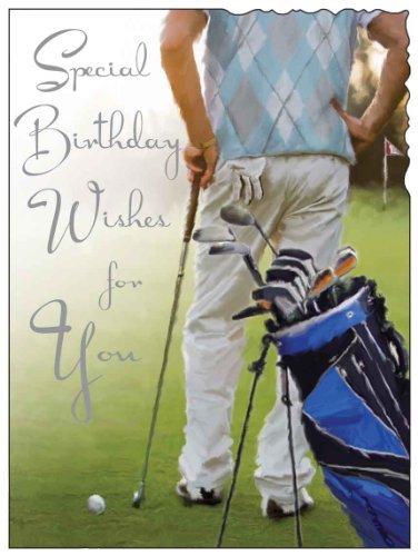 Golf Happy Birthday Card JJ1665