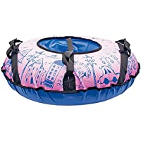 Trineos hinchable, Snow Tube 65 cm City pink