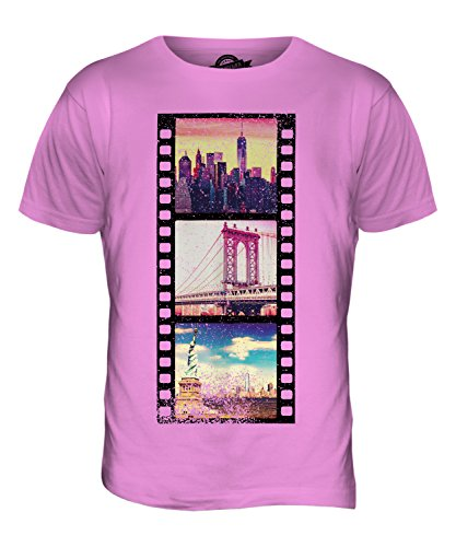 CandyMix Manhattan Fotografischer Film Herren T Shirt Rosa