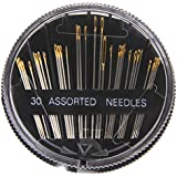 30 Stück Verschiedene Hand Nähnadeln Stick Ausbessern Textiles Basteln Steppen