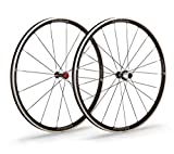 Vision Paar Räder Trimax 30Drahtreifen Pista Bremsanlage Silber Creolen 30mm Shimano (Paar Räder)/Wheelset Trimax 30Drahtreifen Silver Braking Track Rim 30mm Shimano 10/11S (Wheelset)