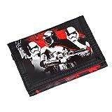 S A F T A - STAR , Portafogli Bambino  Multicolore nero-bianco-rosso 12;2 x 9 x 1,5 CM