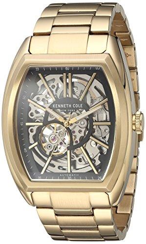 kenneth-cole-new-york-automtico-de-los-hombres-de-acero-inoxidable-reloj-de-vestido-color-gold-toned