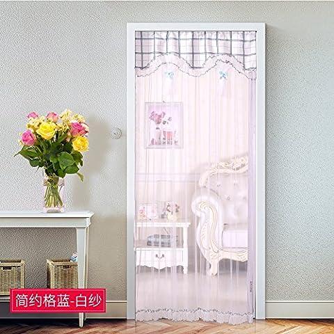 rugai-ue Vorhang Tuch Bildschirm Vorhang Spitze Vorhang Partition einfach Schlafzimmer Wohnzimmer Dekoration Sommer Home Verschlüsselung