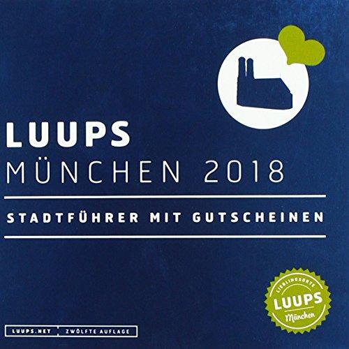 LUUPS München 2018: Stadtführer mit Gutscheinen