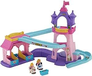 Fisher-Price – Disney Princess – Little People Klip Klop – L'Ecurie des Princesses Version Anglaise