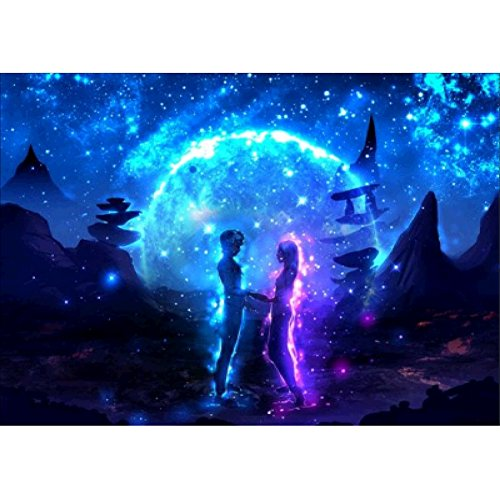 Balai Lovers Univers Space Planet DIY Handmade 5D Diamond Painting Kit bead painting, Crystal Rhinestone Embroidery Pictures Cross Stitch Arts Craft for Home Wall Decor Gift Mosaic, 8 Styles